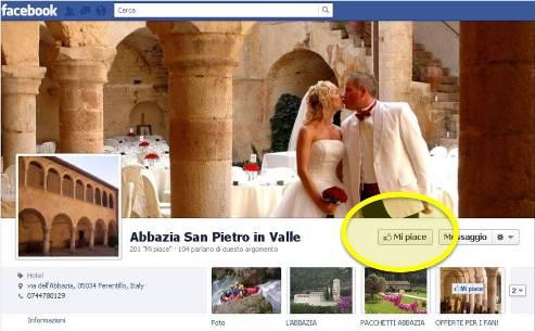 residenza d'epoca abbazia san pietro in valle su facebook